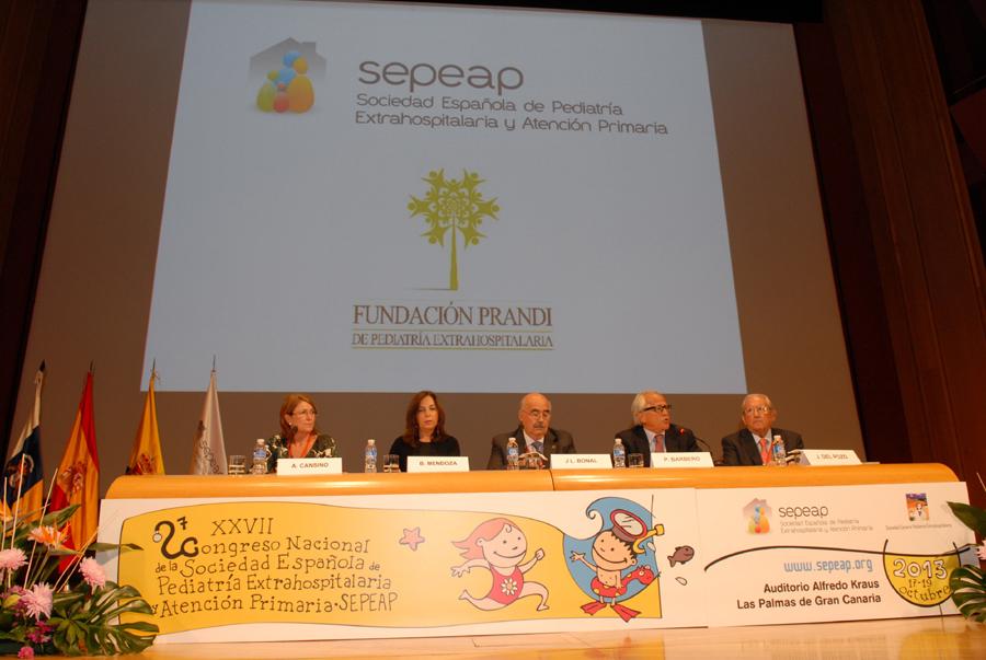 XXVII Congreso Nacional de la Sociedad de Pediatria Extrahospitalaria y Atencion Primaria