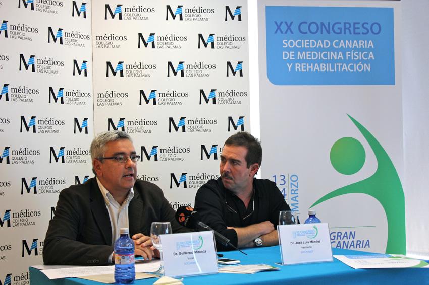 XX Congreso de la Sociedad Canaria de Medicina Fisica y Rehabilitacion 2