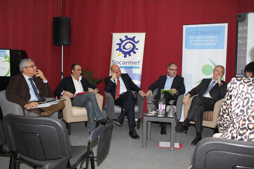 XX Congreso de la Sociedad Canaria de Medicina Fisica y Rehabilitacion