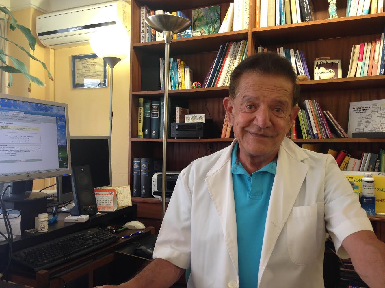 Dr. Viera, especialista en Medicina Antiedad