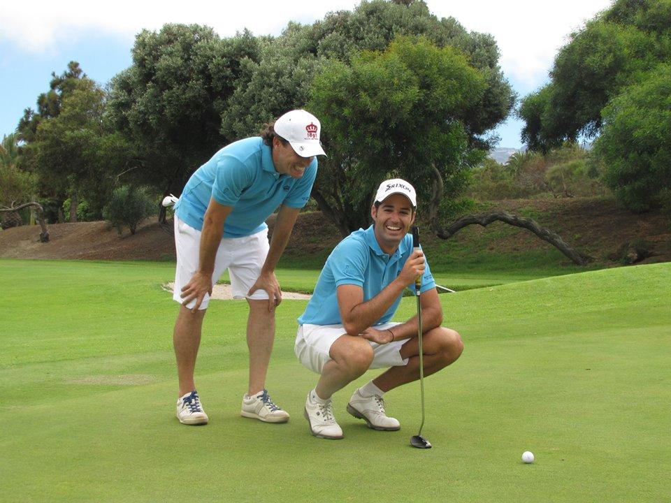 Pablo Montesdeoca y Óscar Sánchez
