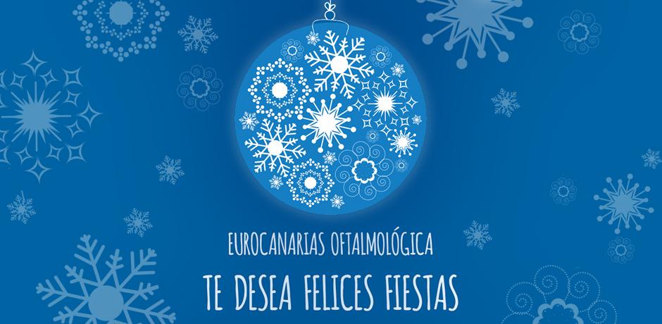 Felicitación navideña de Eurocanarias Oftalmológica