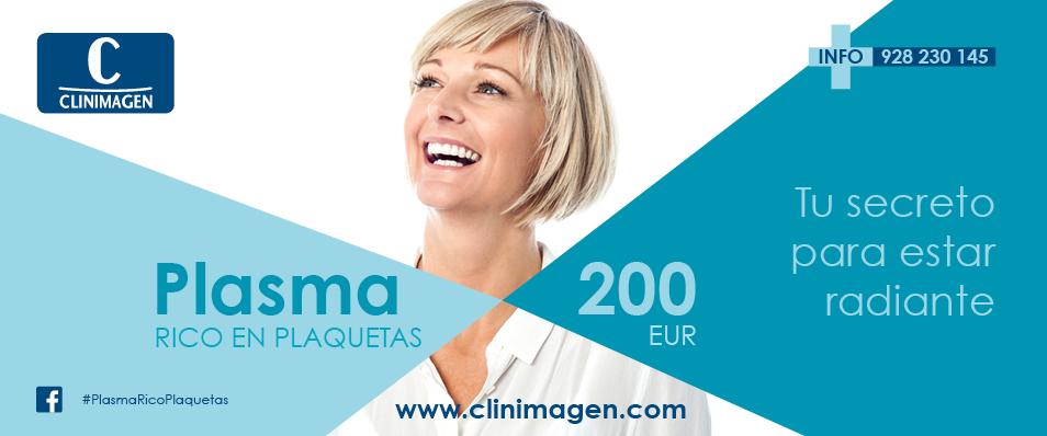 Campaña promocional Plasma rico en plaquetas