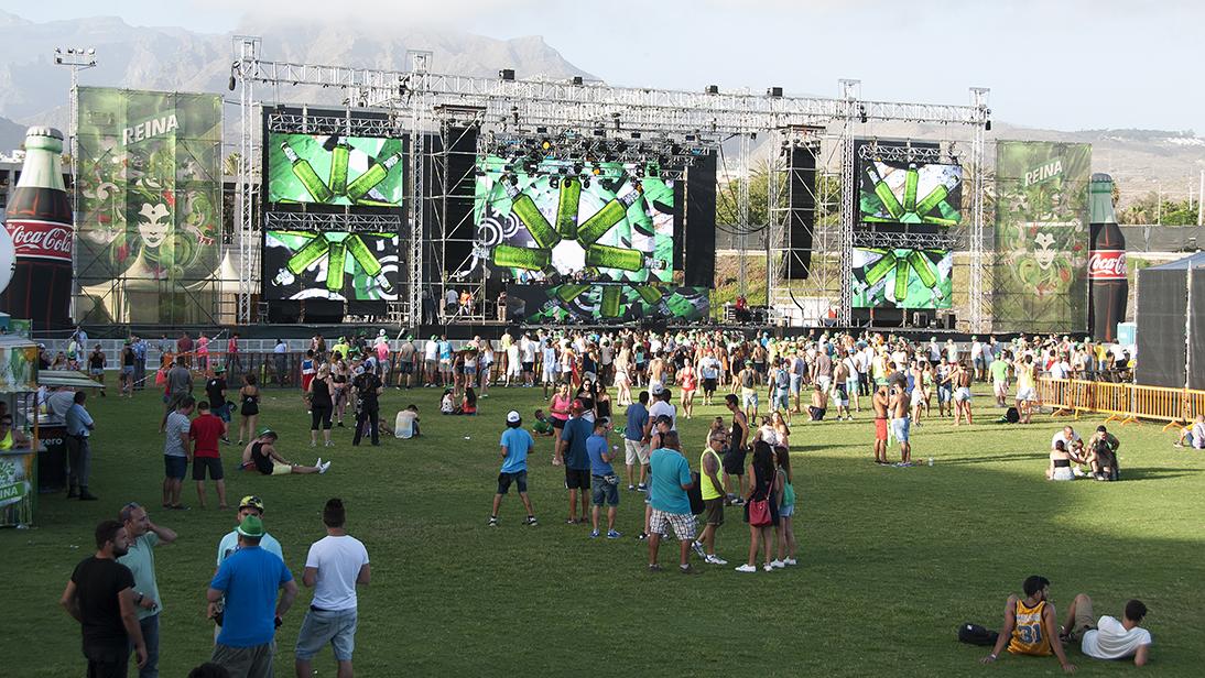 Cerveza Reina respalda la mejor edición del Arona Summer Festival