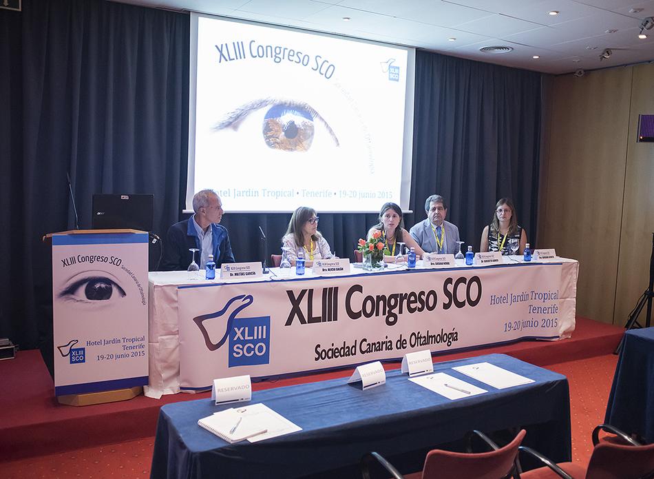 Congreso de la Sociedad Canaria de Oftalmología en Canarias