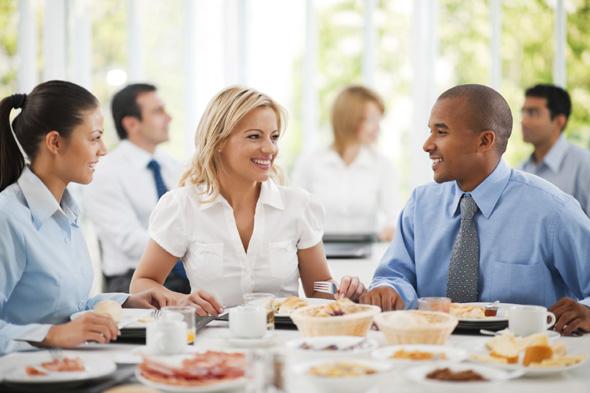 Contactos profesionales - Comida de negocios