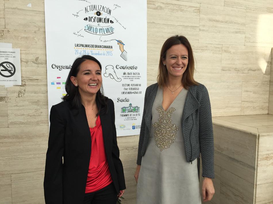 Suelo Pélvico: Dra. Isabel Montes y Dra. Alicia Martín, directoras de las Jornadas sobre Disfunción del Suelo Pélvico