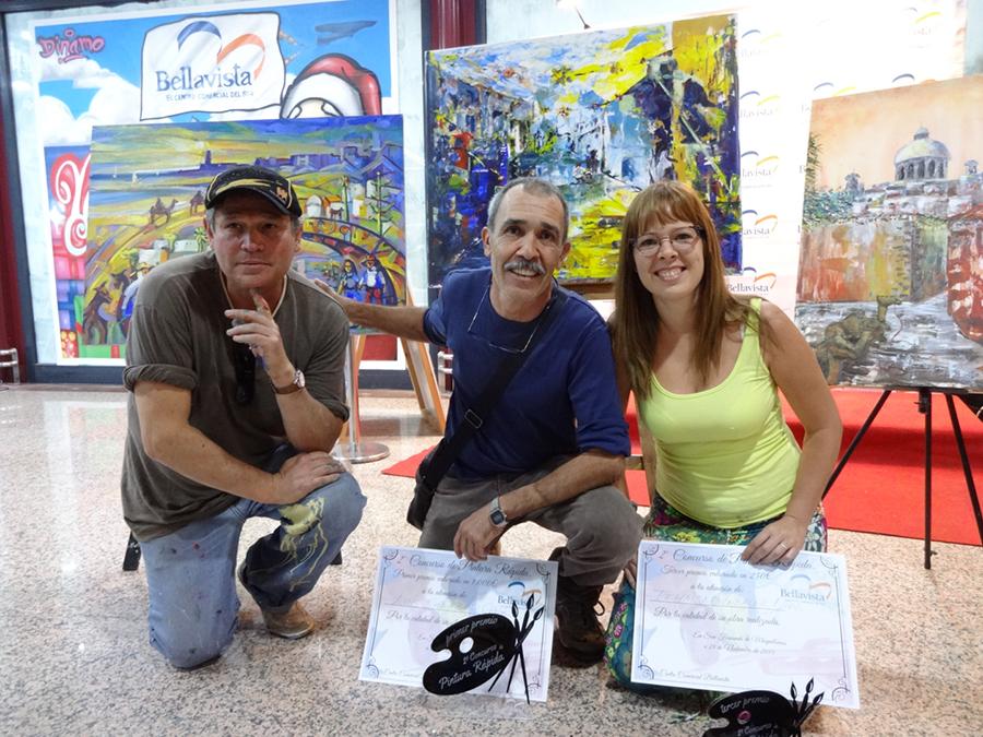 Ganadores Concurso Pintura CC Bellavista