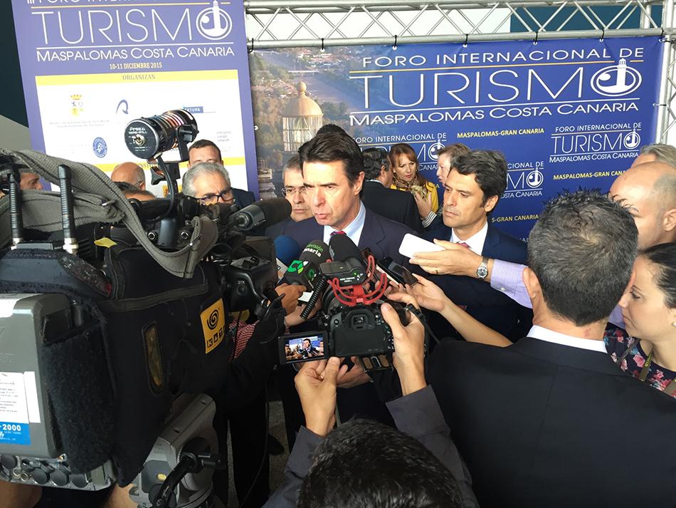 Foro Internacional de Turismo Maspalomas Costa Canaria, 3ª edición - declaraciones del ministro de turismo