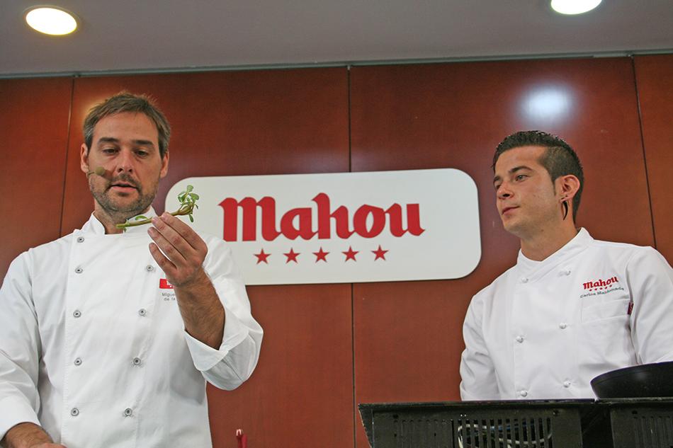 Miguel Ángel de la Cruz y Carlos Maldonado Masterclass