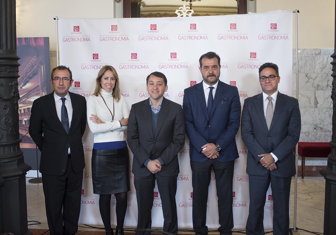 Presentación III Premios Gastronomía 1