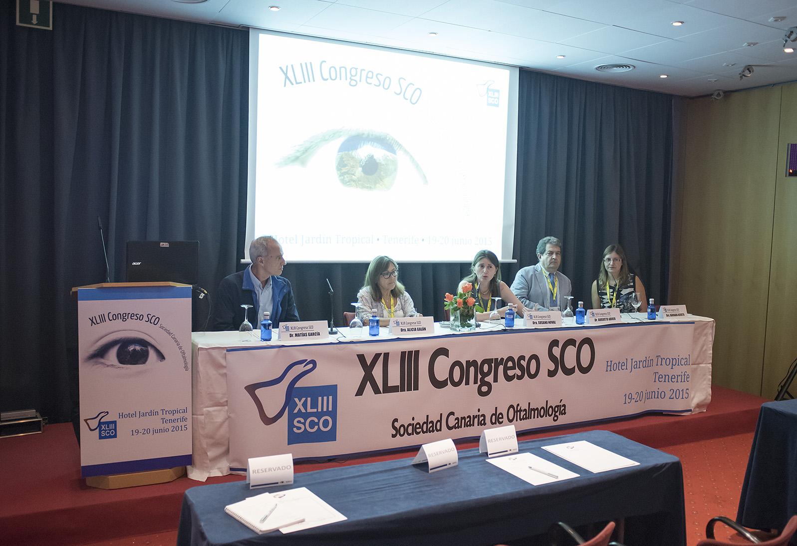 XLIII Congreso de la Sociedad Canaria de Oftalmología
