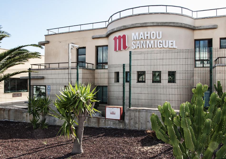 exteriores planta Candelaria Mahou San Miguel