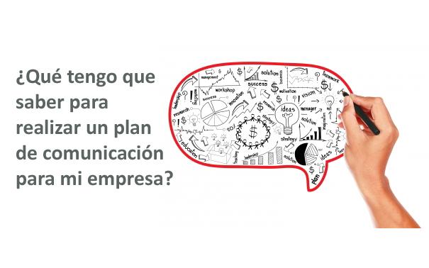 Plan de comunicación para mi empresa